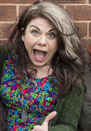 Raised By Wolves. Caitlin Moran. Copyright: Big Talk Productions.