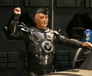 Red Dwarf. Kryten (Robert Llewellyn). Copyright: Grant Naylor Productions / BBC.