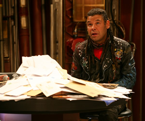 Red Dwarf. Lister (Craig Charles). Copyright: Grant Naylor Productions / BBC.