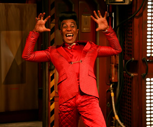 Red Dwarf. Cat (Danny John-Jules). Copyright: Grant Naylor Productions / BBC.