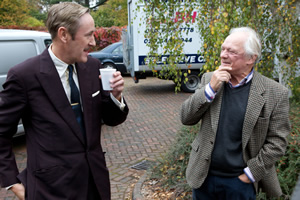 Nicholas Lyndhurst and Sir David Jason. Copyright: Shazam Productions / BBC.