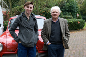 James Buckley and Sir David Jason.