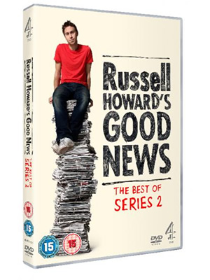 Russell Howard's Good News - Series 2. Copyright: Avalon Television.
