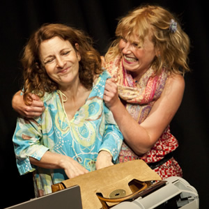 The Sitcom Mission 2011. What Next?. Image shows from L to R: Joy Merriman, Kate Rawson.