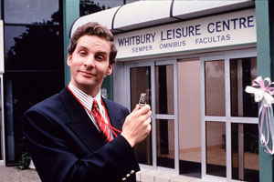 The Brittas Empire. Gordon Brittas (Chris Barrie). Copyright: BBC.
