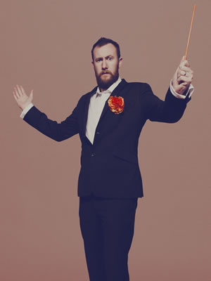 The Horne Section. Alex Horne.