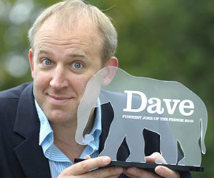 Dave's Funniest Joke of the Fringe 2010. Tim Vine.