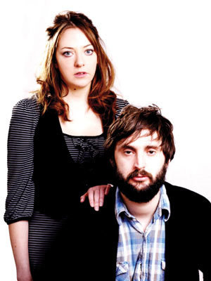 Image shows from L to R: Diane Morgan, Joe Wilkinson.