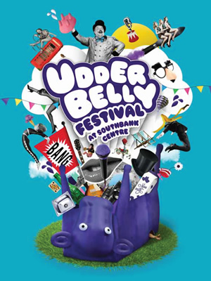Udderbelly Festival at Southbank Centre.