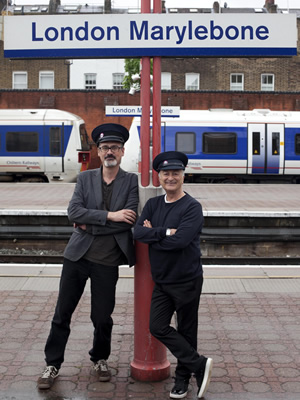 Image shows from L to R: Richard Preddy, Tony Robinson. Image credit: UKTV Gold.
