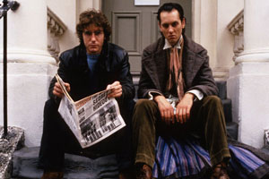 Withnail & I. Image shows from L to R: I (Paul McGann), Withnail (Richard E. Grant). Copyright: Hand Made Films.