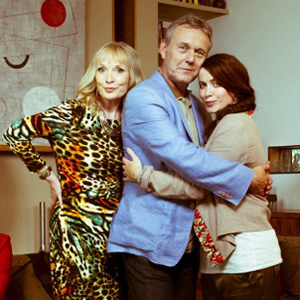 You, Me & Them. Image shows from L to R: Lydia Walker (Lindsay Duncan), Ed Walker (Anthony Head), Lauren Grey (Eve Myles). Image credit: Hat Trick Productions.