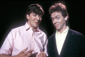 A Bit Of Fry & Laurie. Image shows from L to R: Stephen Fry, Hugh Laurie.