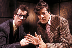 A Bit Of Fry & Laurie. Image shows from L to R: Hugh Laurie, Stephen Fry.