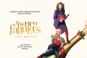 Win a signed Ab Fab poster