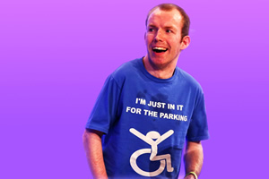 Ability. Matt (Lee Ridley). Copyright: BBC.