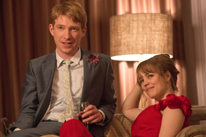 About Time. Image shows from L to R: Tim (Domhnall Gleeson), Mary (Rachel McAdams).