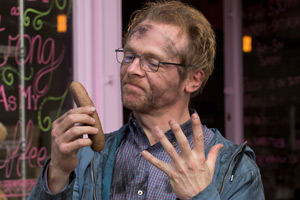 Absolutely Anything. Neil Clarke (Simon Pegg). Copyright: Bill And Ben Productions.