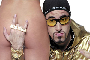 Ali G Indahouse. Ali G (Sacha Baron Cohen). Copyright: Working Title Films.