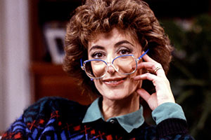 All At No. 20. Sheila Haddon (Maureen Lipman). Copyright: Thames Television.
