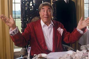 All Change. Uncle Bob (Frankie Howerd). Copyright: Yorkshire Television.