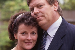All Good Things. Image shows from L to R: Shirley Frame (Brenda Blethyn), Phil Frame (Warren Clarke). Copyright: BBC.