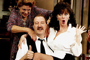 Blue plaque for 'Allo 'Allo!
