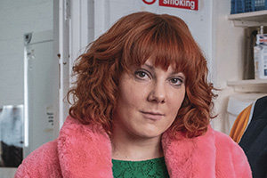 Alma's Not Normal. Alma Nuthall (Sophie Willan).