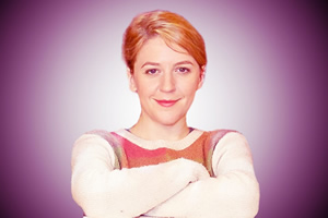 Almost Like Being In Love. Grace (Gemma Whelan). Copyright: Pier Productions.