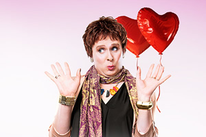Anna Mann's Valentine. Anna Mann (Colin Hoult). Copyright: The Comedy Unit.