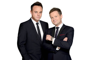 Ant & Dec. Image shows from L to R: Ant McPartlin, Declan Donnelly.