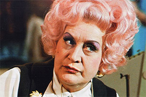 Are You Being Served?. Mrs. Betty Slocombe (Mollie Sugden). Copyright: BBC.