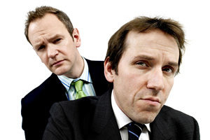 The Armstrong & Miller Show. Image shows from L to R: Alexander Armstrong, Ben Miller.