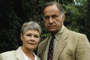 As Time Goes By. Image shows from L to R: Jean (Judi Dench), Lionel (Geoffrey Palmer). Copyright: DLT Entertainment Ltd..