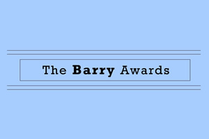 The Barry Awards.
