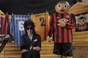 Being Frank: The Chris Sievey Story. John Cooper Clarke. Copyright: Rondo.