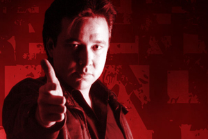 Bill Hicks: Relentless. Bill Hicks. Copyright: Tiger Television.