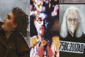 Billy Connolly Glasgow murals