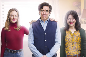 Bliss. Image shows from L to R: Kim (Heather Graham), Andrew (Stephen Mangan), Denise (Jo Hartley).