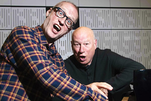 The Bonzo Dog Doo-Dah Band: Anarchy Must Be Organised. Image shows from L to R: Adrian Edmondson, Neil Innes.