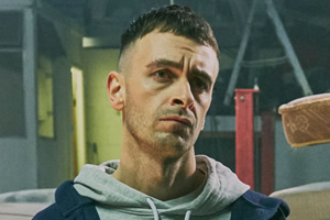 Brassic. Vinnie (Joe Gilgun). Copyright: Calamity Films.