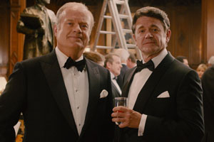 Breaking The Bank. Image shows from L to R: Charles Bunbury (Kelsey Grammer), Richard Grinding (John Michael Higgins).