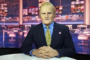 Britain Today Tonight. Douglas 'Digger' Daley (Kayvan Novak). Copyright: Objective Productions.