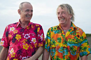 Bula Quo!. Image shows from L to R: Francis (Francis Rossi), Rick (Rick Parfitt). Copyright: Status Quo Films.