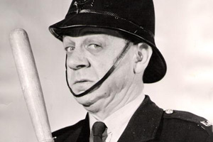 Carry On, Constable. Sgt. Frank Wilkins (Sid James). Copyright: Peter Rogers Productions.
