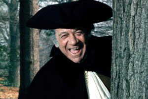 Carry On Dick. Richard 'Big Dick' Turpin / Reverend Flasher (Sidney James).