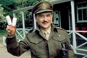Carry On England. Cpt. S. Melly (Kenneth Connor). Copyright: Peter Rogers Productions.