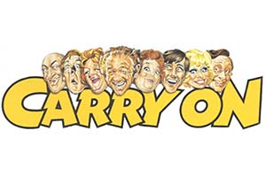 Carry On films logo. Copyright: ITV.