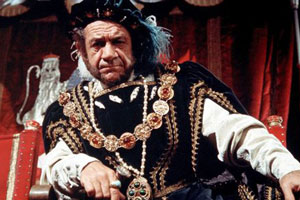 Carry On Henry. Henry VIII (Sid James). Copyright: Peter Rogers Productions.
