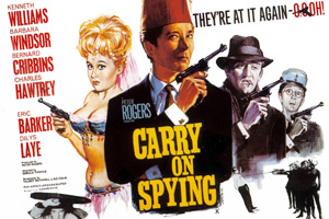 Carry On Spying. Copyright: Peter Rogers Productions / Studio Canal.